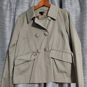 H&M Beige Jacket with Big Buttons